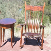 Furniture in the Sierra mountains